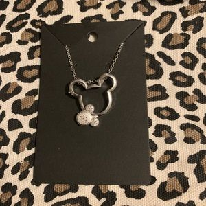 Sterling silver Mickey Mouse Disney Necklace
